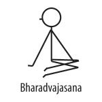 Twisting Poses (Yoga Stick Figures)