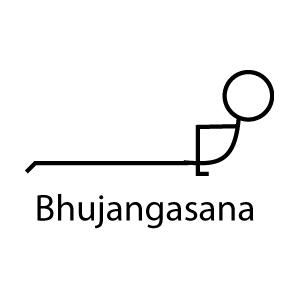 backward bending postures yoga stick figures  yoga