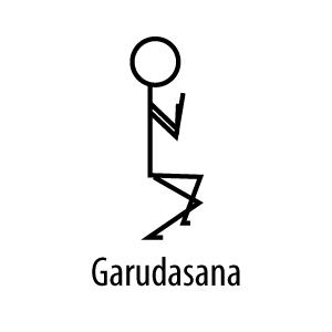 elongation poses yoga stick figures  yoga flavored life