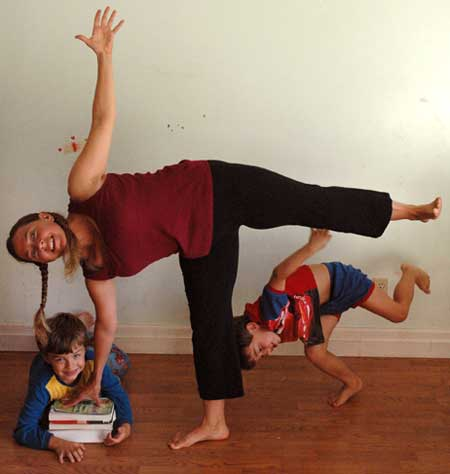 the ups and downs of balance postures  yoga flavored life
