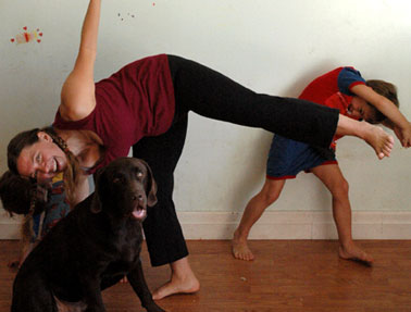 yoga postures and acceptance  what i learned falling out