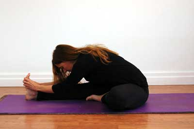 head to knee sequence with a twist  yoga flavored life