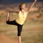 Finding Grace in King Dancer Pose