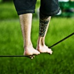 Slack Line Yoga: Finding your Inner Balance